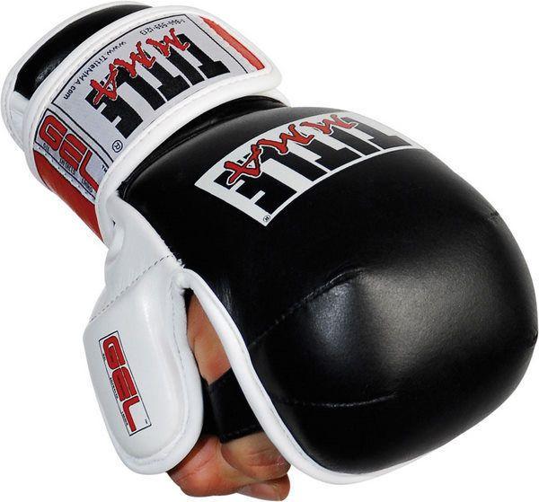 Title Gel MMA Training Gloves mma muay thai kickboxing training gear  #Title