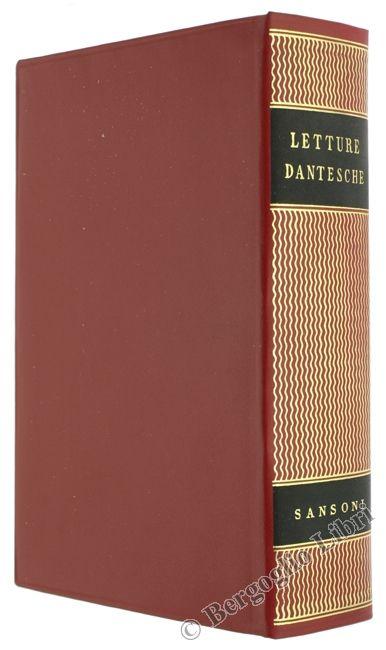 LETTURE DANTESCHE. Getto Giovanni (a cura) 1962 - Bergoglio Libri d'Epoca