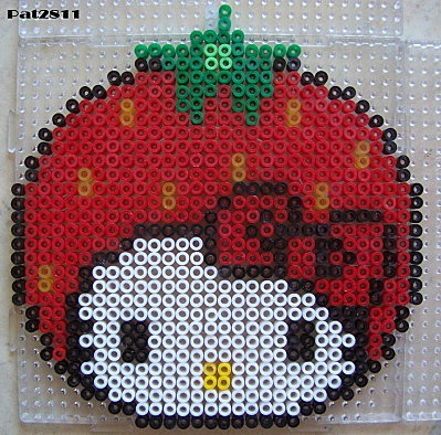 hello kitty / Hama perler beads  / Bügelperlen