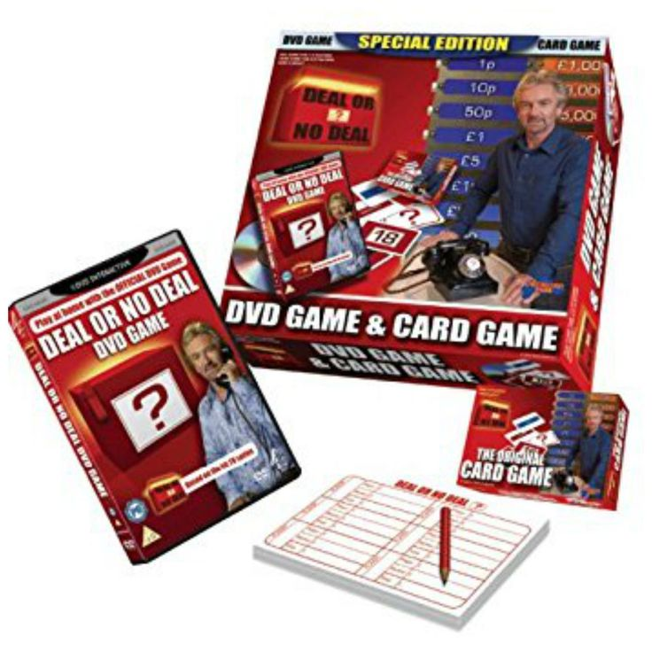 DEAL OR NO DEAL SPECIAL EDITION DVD & CARD GAME NEW & SEALED DRUMOND PARK NOEL
