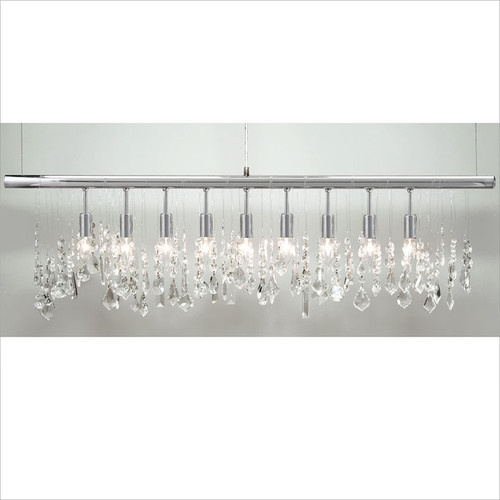 Contemporary Crystal Dining Room Chandeliers Endearing Design Decoration