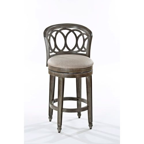 Adelyn Gold Swivel Counter Stool Hillsdale Furniture Counter Height (18 To  26 Inch) Bar