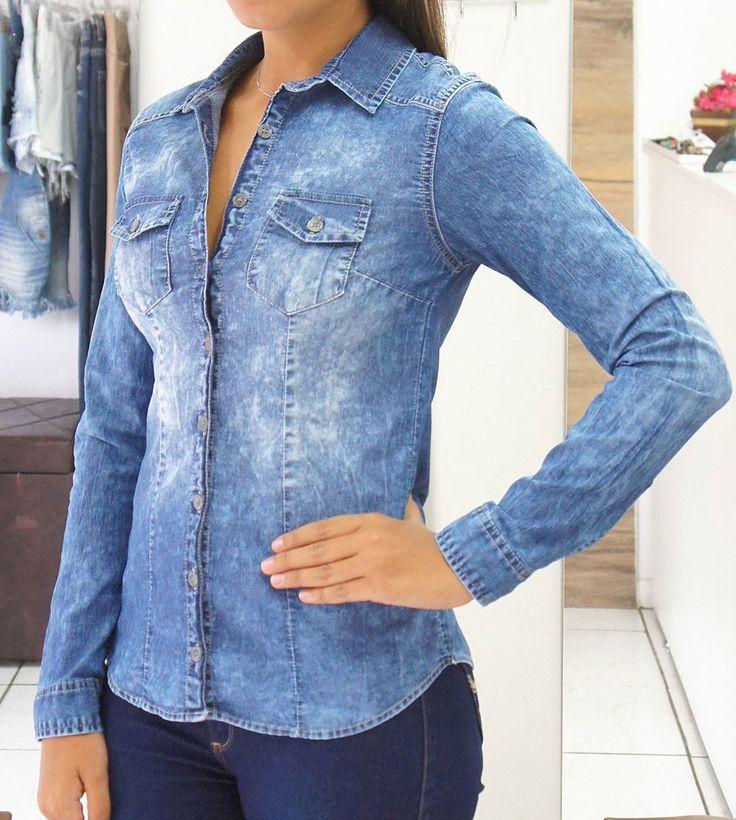 Monte looks maravilhosos com essa camisa Revanche Jeans - Você encontra em nosso site www.lojas22k.com.br😉😉😉😉