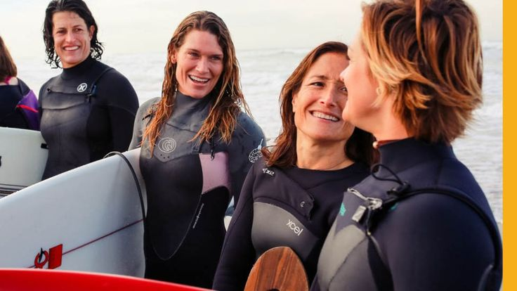 Female surfers were banned from taking part in a major surf competition. But a small group of determined women changed that.
