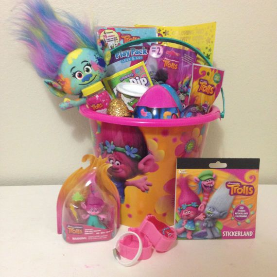 40 aaliyah easter baskets ideas trolls themed easter basket negle Images