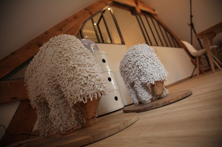 Need these to sit on. project bb Chez Ric et Fer in picardie northern france aisne coucy le chateau 7 Charming Attic Guest Room at Chez Ric et Fer Bed&Breakfast i...