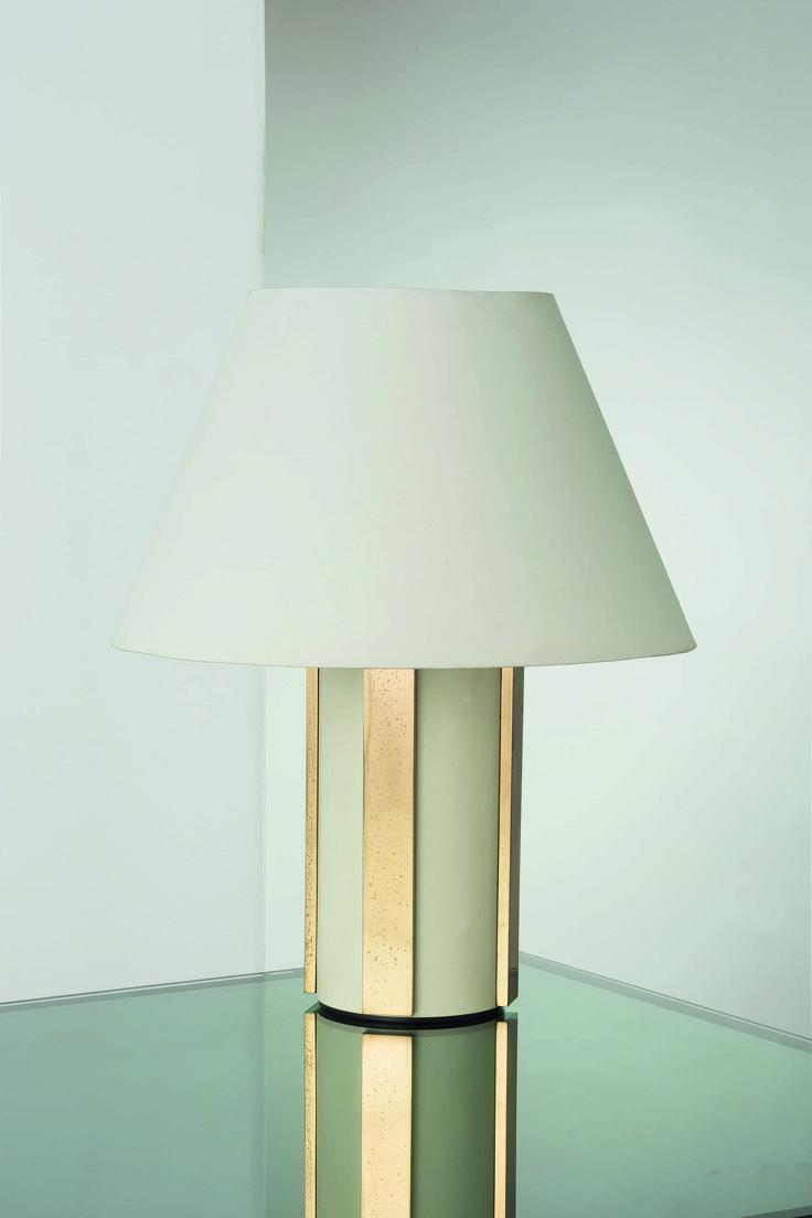 Lot : ANGELO LELII - Lampade da tavolo, Arredoluce anni '60. Ottone, ottone verniciato,[...] | Dans la vente Design - 2nd Part à Wannenes Art Auctions
