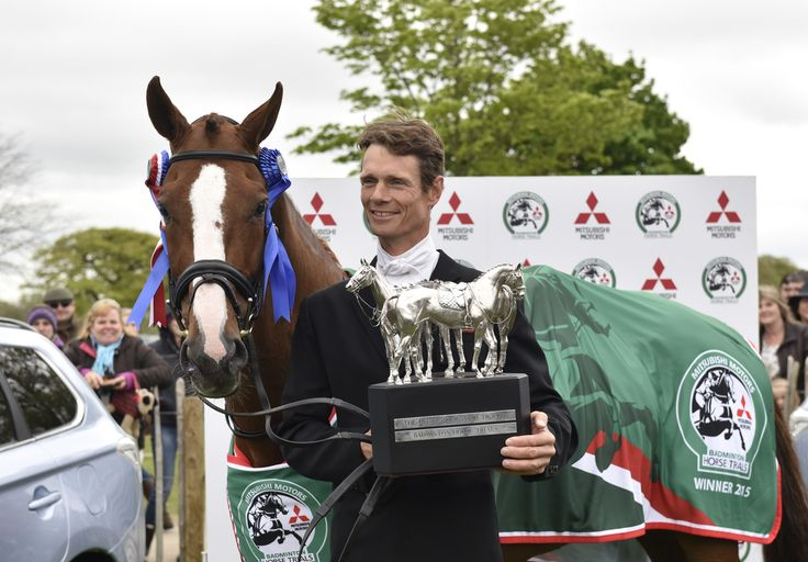 wiliam fox-pitt   winner  Badminton Horse Trials 2015