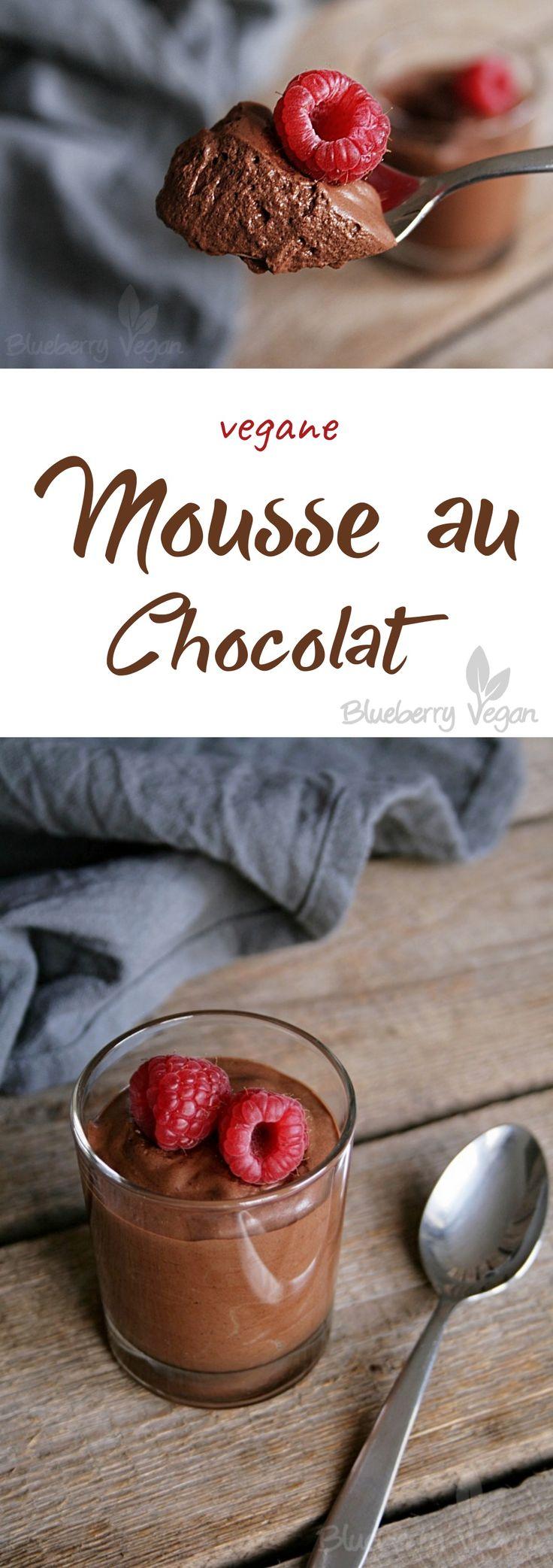 Mousse au Chocolat – EASY VEGAN MEALS