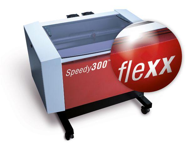 SPEEDY 300 FLEXX: #equipo láser , flexible: dos tubos incorporados en una sola máquina: CO2 y Fibra. Amplie los materiales a procesar: metales, plásticos. Más información www.framuntechno.com