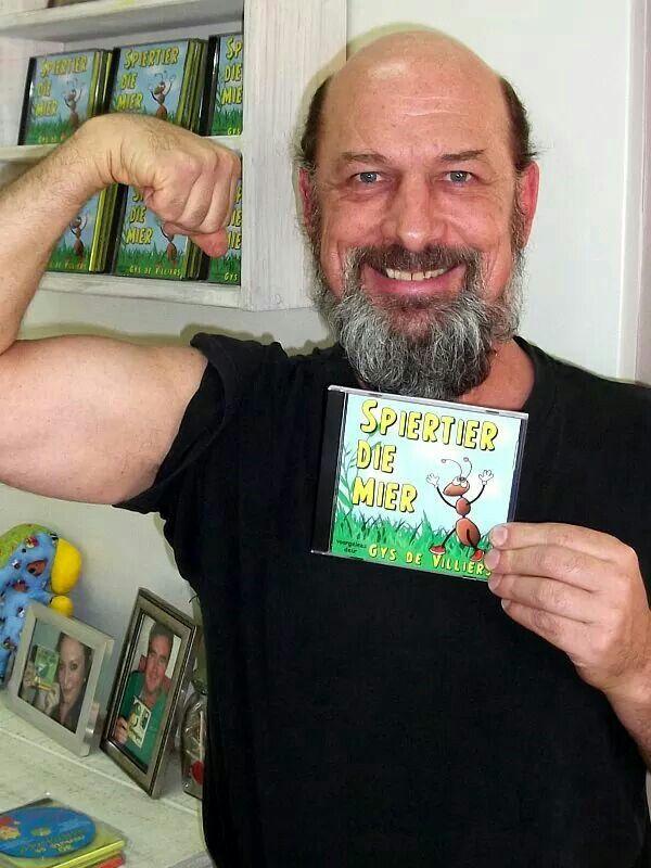 """Gys se Villiers lees Afrikaanse kinderstories! """"SPIERTIER DIE MIER"""" is beskikbaar by www.AnnaEmm.co.za"""