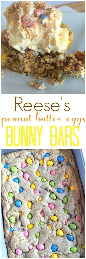 Reese's Peanut Butter Eggs Bunny Bars - Together as Family
