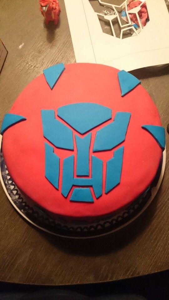 Transformer taart