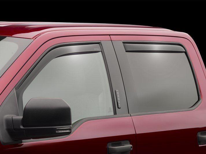 2018 Ford F 150 Rain Guards Side Window Deflectors For Cars Trucks Suvs And Minivans Weathertech Weather Tech Mini Van Ford