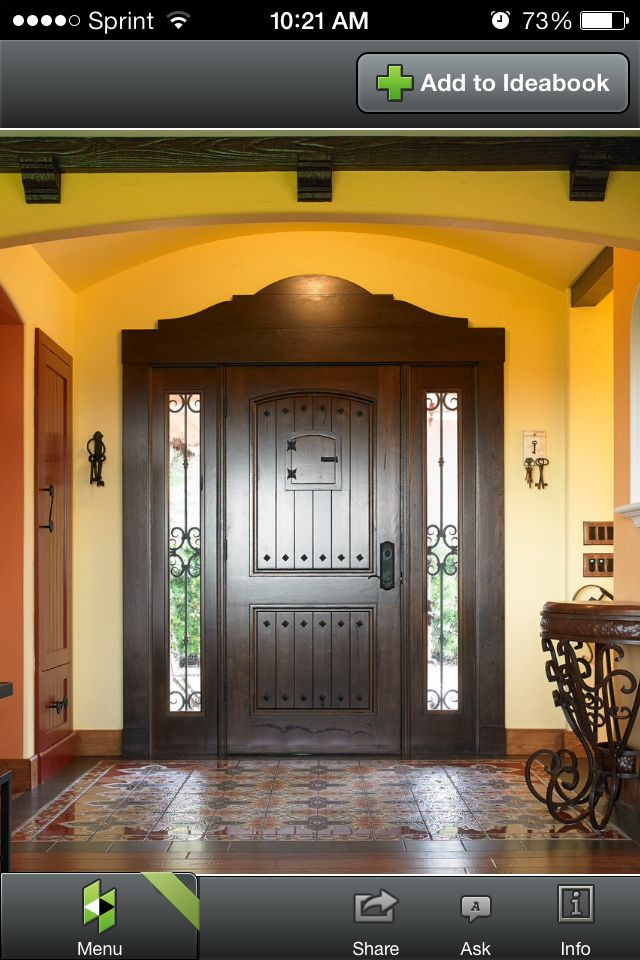 40 best Front entry doors with sidelights images on Pinterest