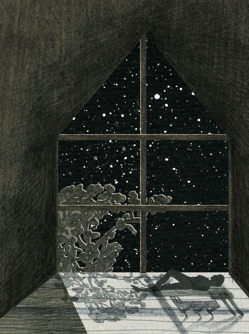Nancy Liang's Glittering Night Skies in Surreal GIFs