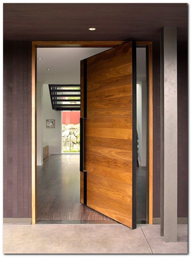 50 Ideas Modern Door For Minimalist Wooden Front Doors Main Door Design Wooden Door Design