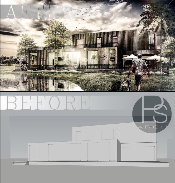 Photoshop for architect: Rendering by photoshop