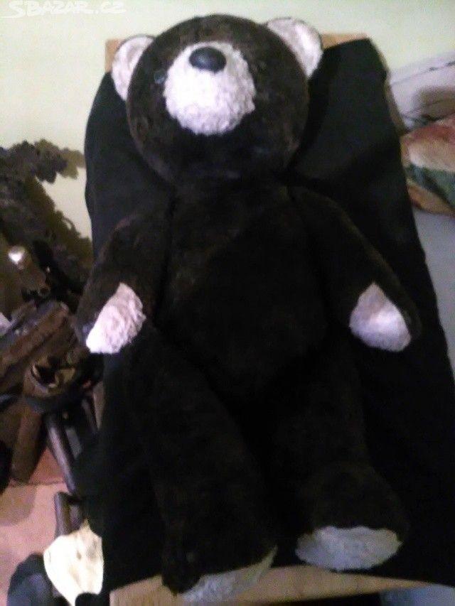 Starý plyšový medvěd. Nepoškozený - obrázek číslo 3