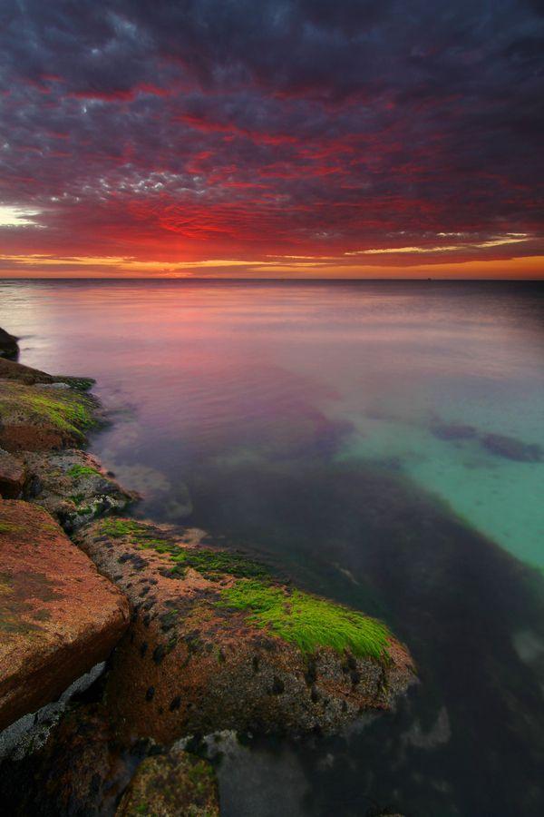 Come and learn more about Australia Melbourne Mission. Sunset. Melbourne - Australia