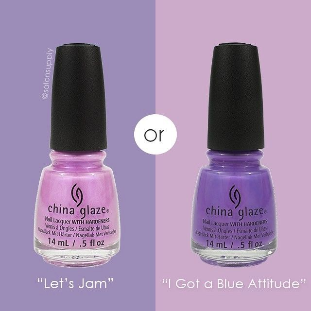 Polish Poll! Which #chinaglaze shade gets your vote?