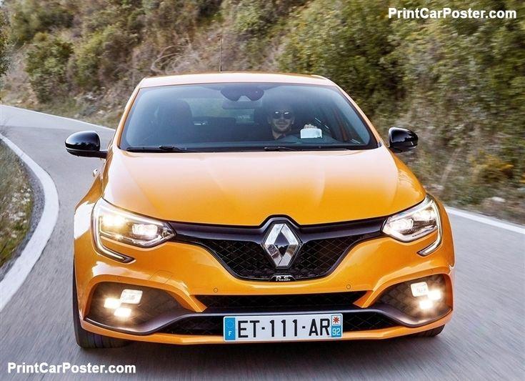 Renault Megane RS 2018 Poster, #poster, #mousepad, #tshirt, #