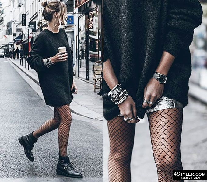 The ultimate fishnet street style inso!