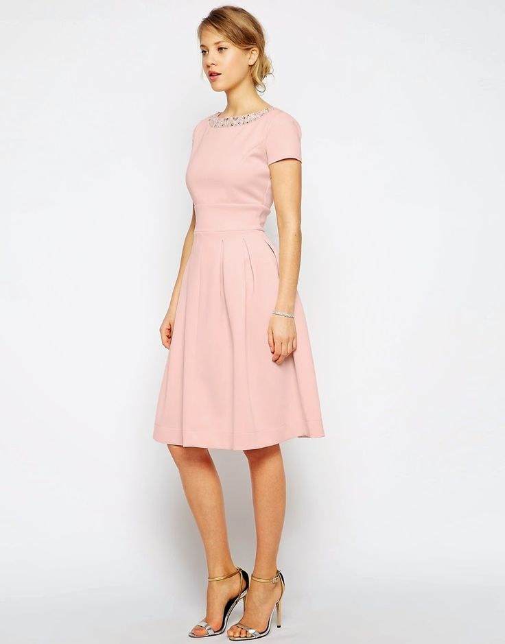 Chi London Premium Embroidered Lace Prom Dress With Bardot Neck At Asos