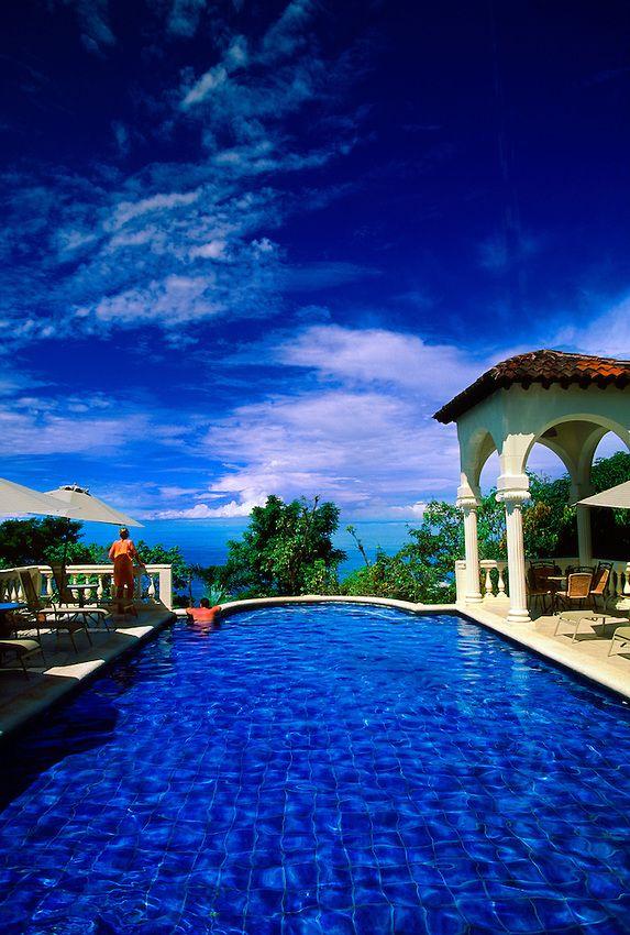 Hotel Parador Boutique Resort & Spa... overlooking the Pacific Ocean, Manuel Antonio, Costa Rica | By Blaine Harrington