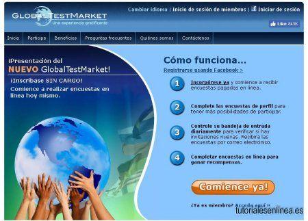 GlobalTestMarket - Encuestas Remuneradas - Justificante De Pago