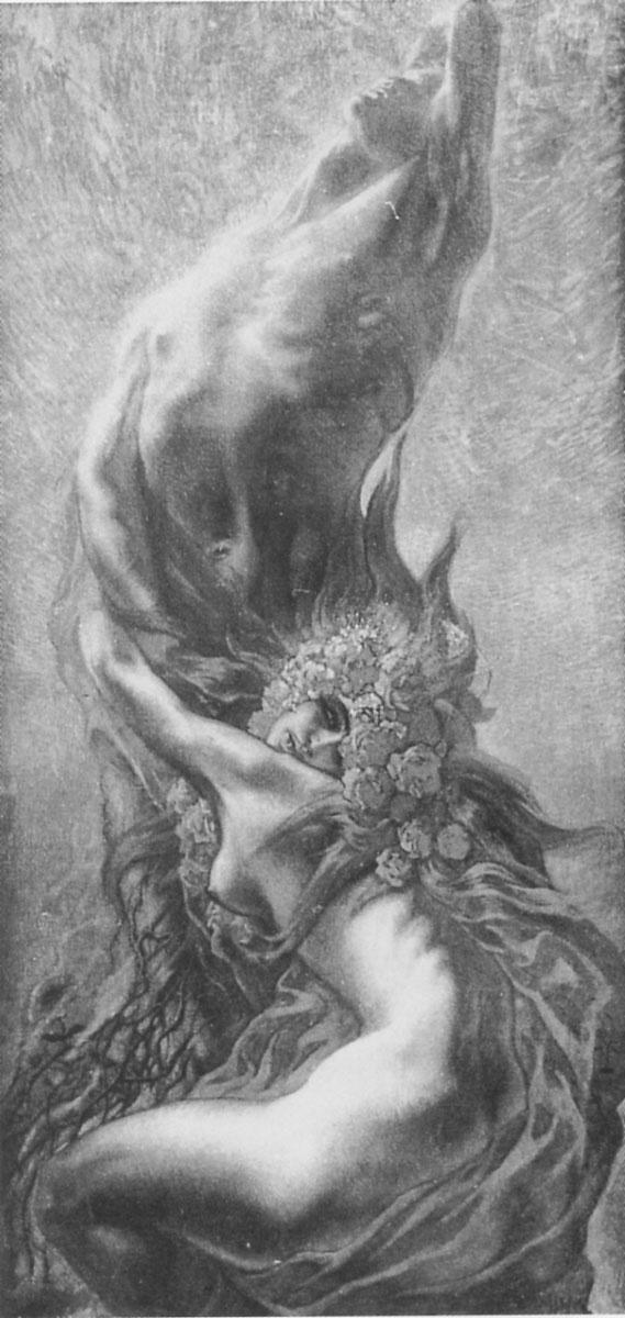 by Jean Delville (Belgian 1867-1953)