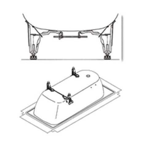 Kaldewei 5032 Bath Tub Leveling Feet - N/A