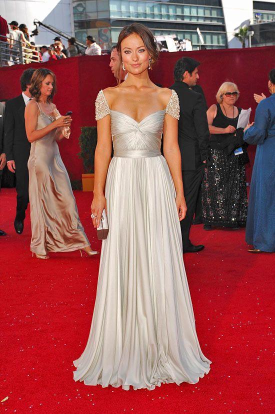 Романтическое платье от Reem Acra: Оливия Уайлд или Джессика Шор? | Мода, модели и одежда | Женский журнал Lady.ru