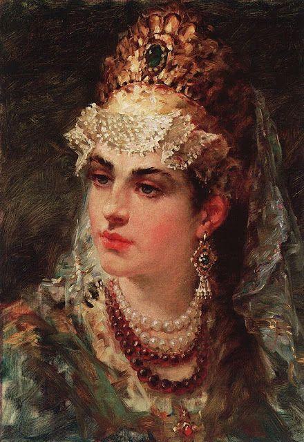 makovsky konstantin egorovich paintings | Painterlog.com: Konstantin Egorovich Makovsky (Russian Painter, 1839 ...: