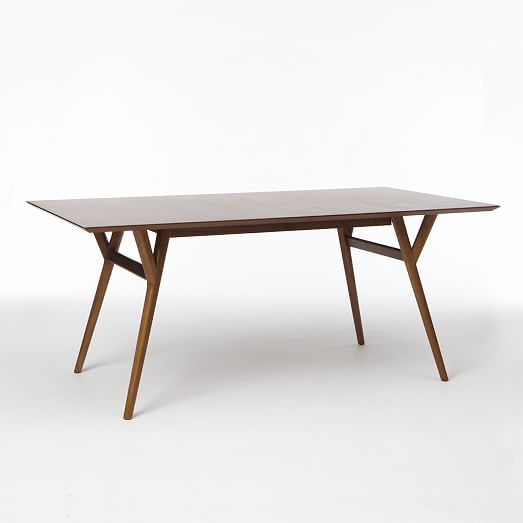 Mid-Century Expandable Dining Table | West Elm $699-$799