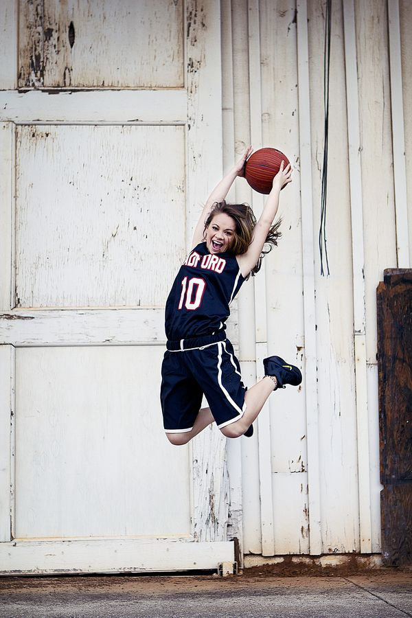 senior picture ideas for basketball