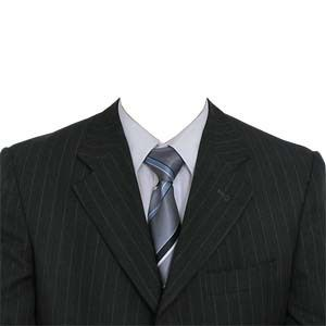 """""""Coat and Tie"""", to merge with your photo"""
