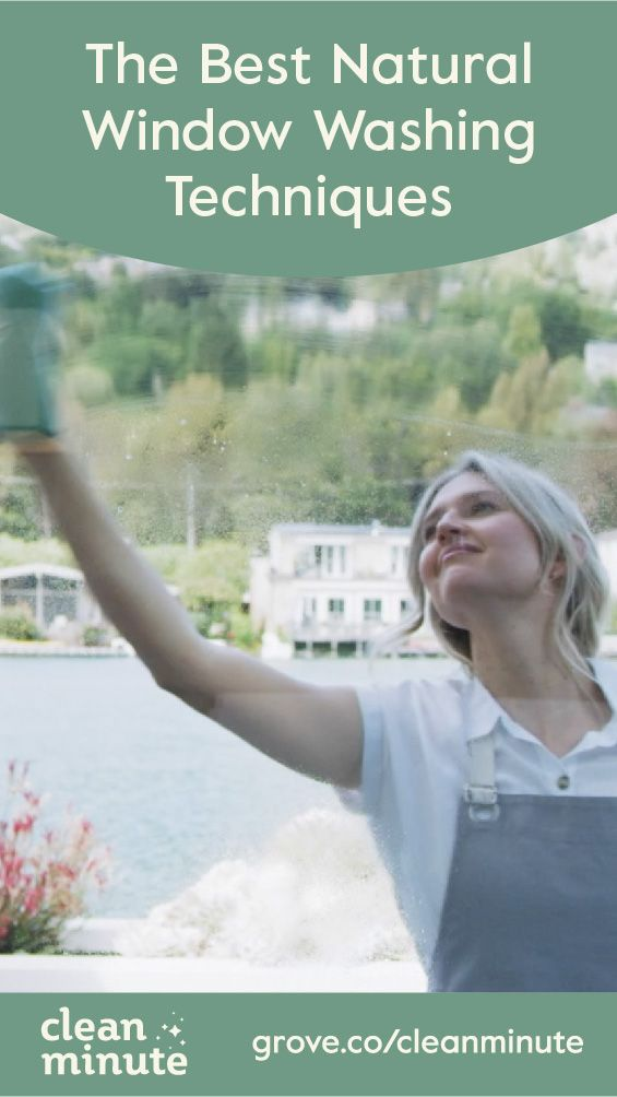 Want To Know The Best Technique To Clean Those Windows Click To Watch Cleanminute S Simple No Fuss Approach To Washing Windows Green Life Household Windows