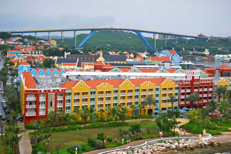 Colorful places: Willemstad, Curaçao