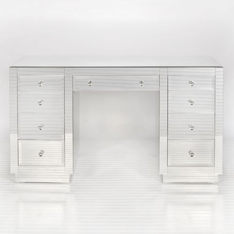 with vanity rhadeed nightstand glass images glamfurniture on pinterest drawer drawers dressing mirrored desk and from best nine com