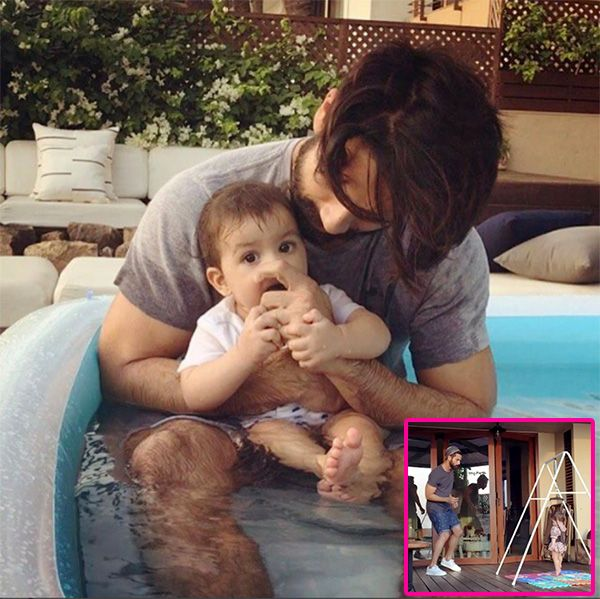 Shahid Kapoor dancing with baby Misha on International Dance day is the cutest thing you will see – watch video #FansnStars