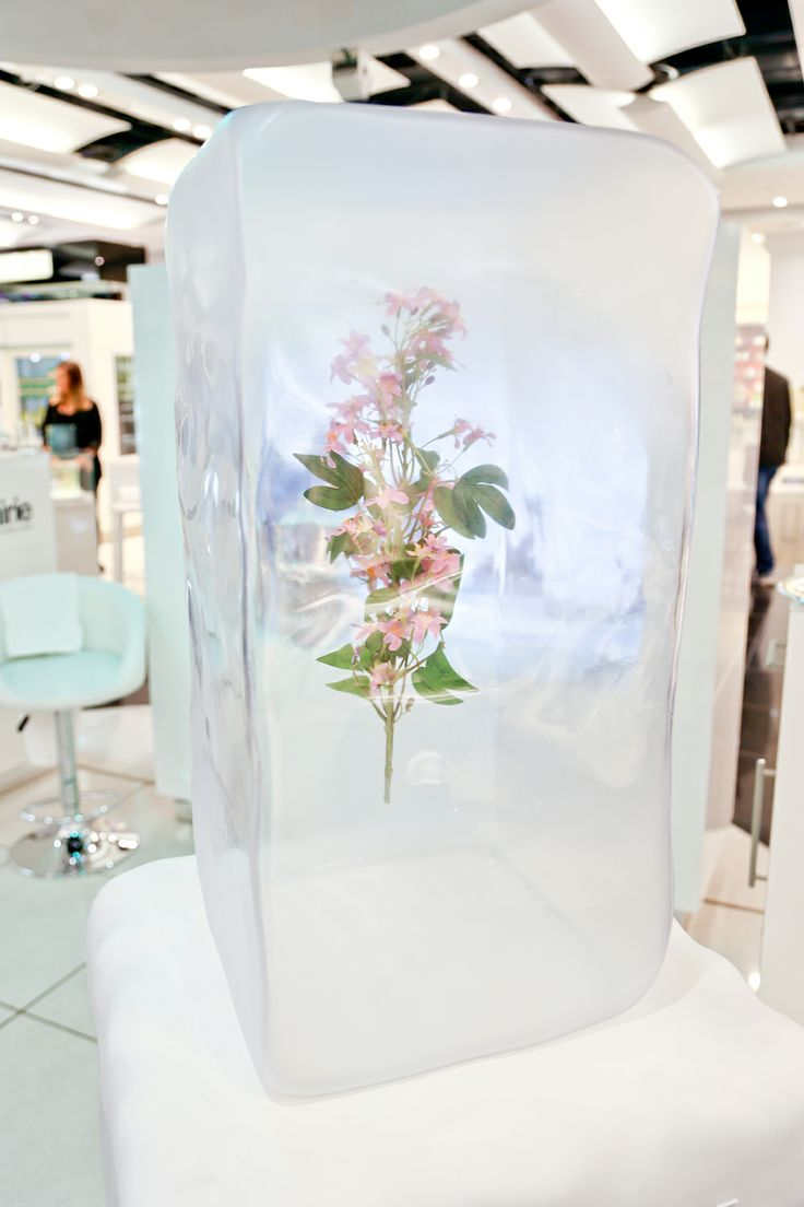La Prairie Pop-up | Ice Crystal Collection, Heathrow by Millington Associates…