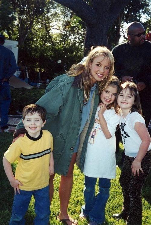 Britney [On Set 'Sometimes']