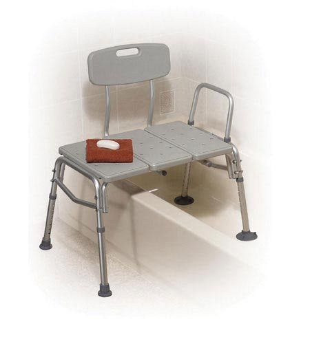 Transfer Bench Plastic 3-section and Backrest