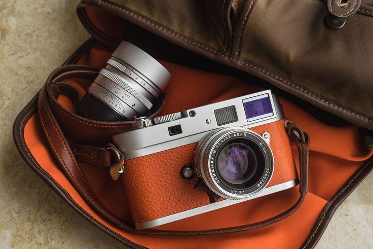 Leica M9-P Silver Chrome with Leica M 35F/1.4 ASPH and Leica M 50F/1.4 ASPH.