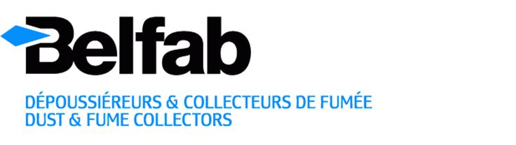 Belfab dust collectors logo