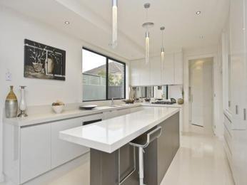 Modern kitchen-dining kitchen design using marble - Kitchen Photo 279030