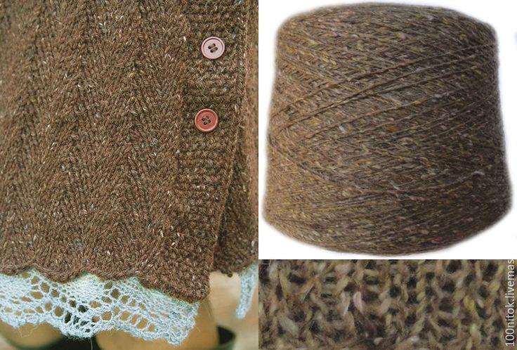Купить Твидовая пряжа - итальянская пряжа, Итальянская шерсть, мягкая шерсть, твидовая пряжа