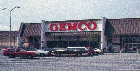 Gemco was first established in Anaheim, California in Oct 1959. A year later, the company was purchased by Lucky Stores, which added the supermarket element and expanded Gemco into a chain. Business was healthy for over 20 years .A series of unsuccessful hostile  takeovers  aimed at Parent Store, Lucky's, was the final decision to liquidate Gemco entirely. This liquidation occurred from Sept – Nov  1986. Target reopened in most of the former Gemco locations by .the fall of 1987