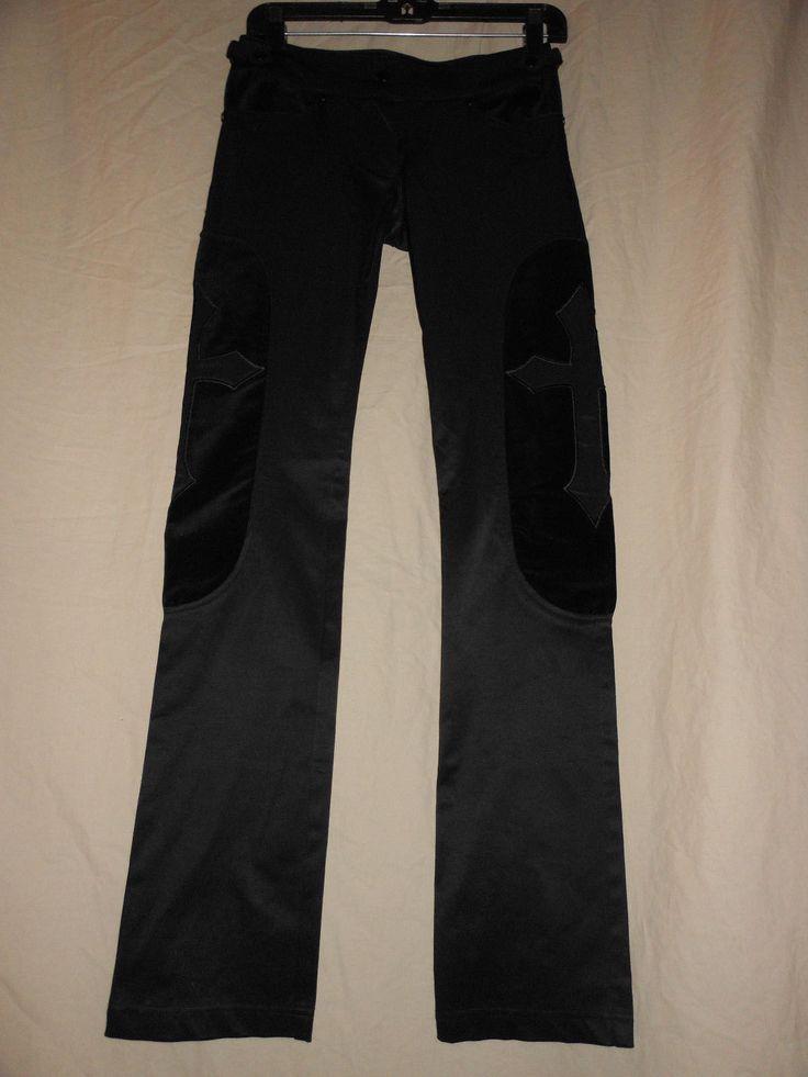 LIP SERVICE Black Metal pants #52-66